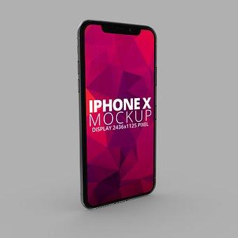 Iphone X, Iphone, Mockup, Mobile