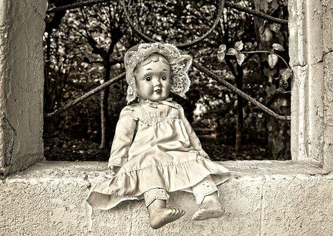 Doll, Porcelain Doll, Vintage Doll, Antique, Handmade
