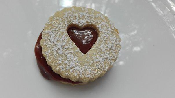 Cookie, Sugar, Dulce De Leche