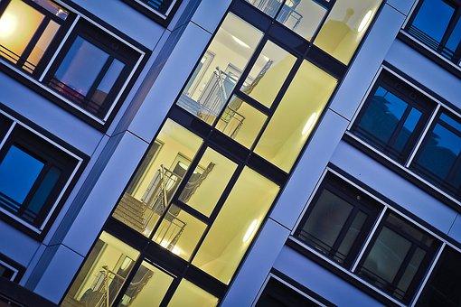 Architecture, Window, Facade, Building, Glass, Modern