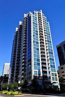 Hotel, Skyscraper, Houston, Texas, Buildings