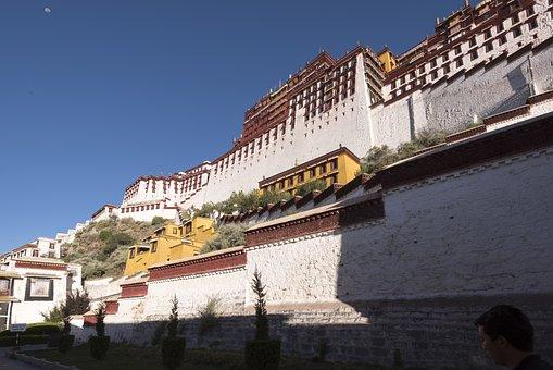 Tibet, Lhasa, Architecture, Buddhism, Potala, Palace