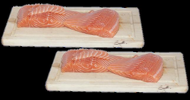 Fish, Fish Fillet, Salmon, Salmon Fillet