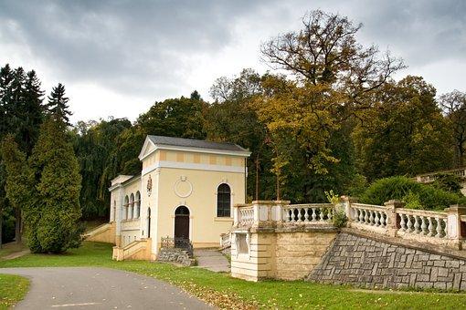 Spa, Park, Building, Old Building, History