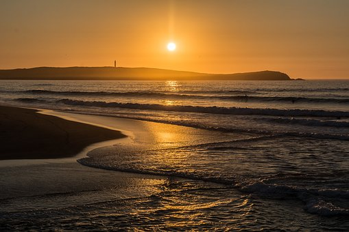 Sun, Beach, Paradise, Holiday, Sunset, Sunny Day