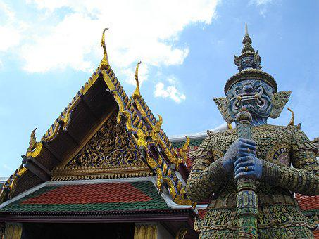 Bangkok, Temple, Thailand