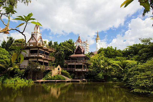 Thailand, Buddha, Temple