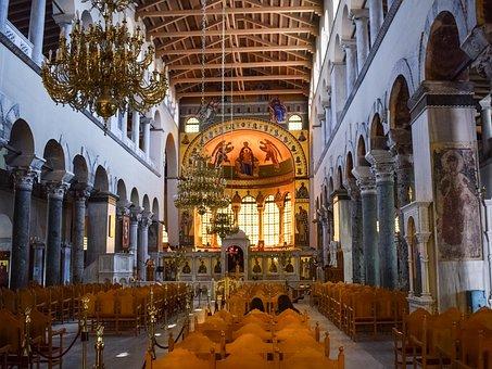 Greece, Thessaloniki, St Demetrius, Church, Cathedral