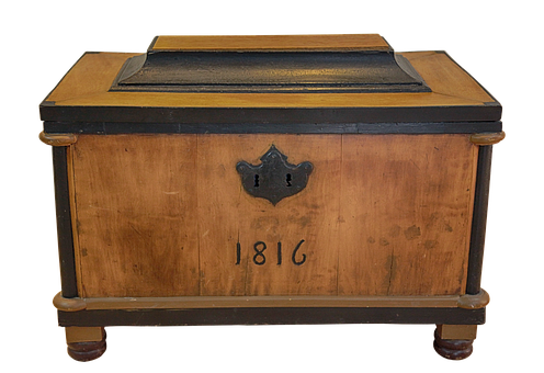 Chest, Wood, Iron, Coin Chest, Treasure Chest