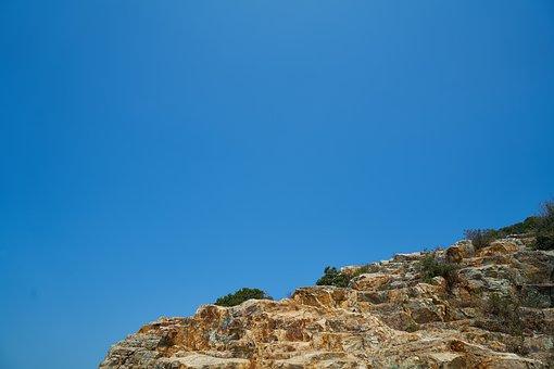 Mountain, Kennedy, Blue, Sky, Nature, Landscape, Rocky