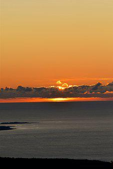 Sunrise, Clouds, Sun, Sky, Nature, Summer, Landscape
