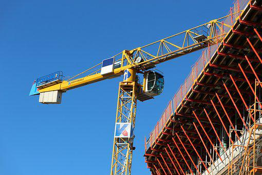 Baukran, Technology, Scaffolding, Scaffold, Crane
