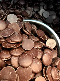 Chocolate, Chocolatier, Buttons, Food, Dessert, Dark