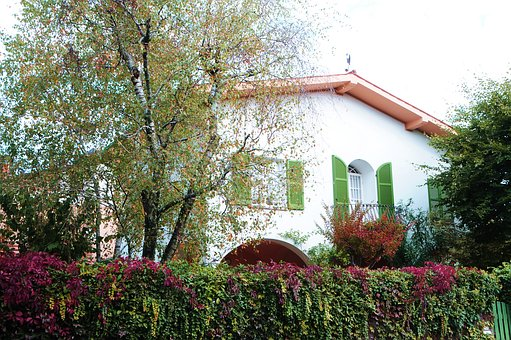 Autumn, House, Italy, Trees, District, Colors, Windows