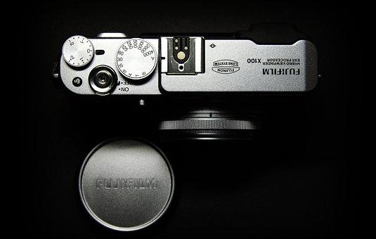 Fuji, Camera, X100, Film, Next To The Shaft