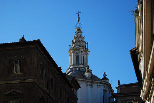 Sant'ivo Alla Sapienza, Francesco Borromini, Church