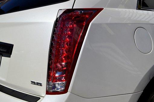 Cadillac, Break Light, Hatchback, Gas Cap, Cap, Side