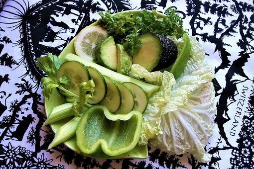 Green, Vegetables, Green Food, Fresh, Vitamins