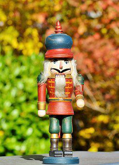 Nutcracker, Figure, Holzfigur, Nuts, Crack Nuts