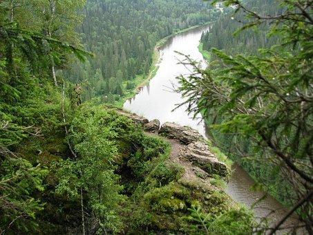 Height, Dahl, Horizon, River, Shore, Alloy, Russia