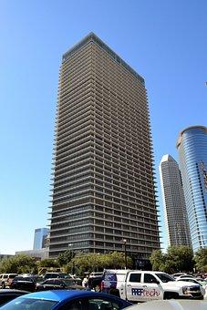 Skyscraper, Houston, Texas, Office Building