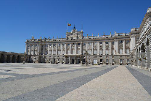Spain, Royal Palace, Madrid