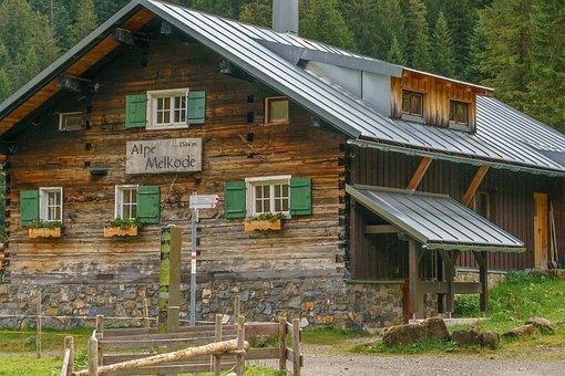 Kleinwalsertal, Ifen, Melköde, Alpe, Allgäu