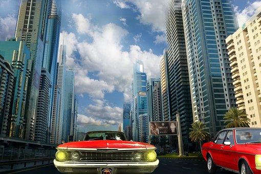 City, Big City, Skyscraper, Architecture, Skyscrapers
