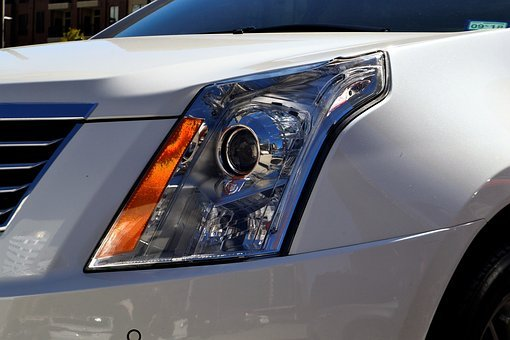 Headlamp, Cadillac, Suv, 2017 Xt5 Crossover, Srx