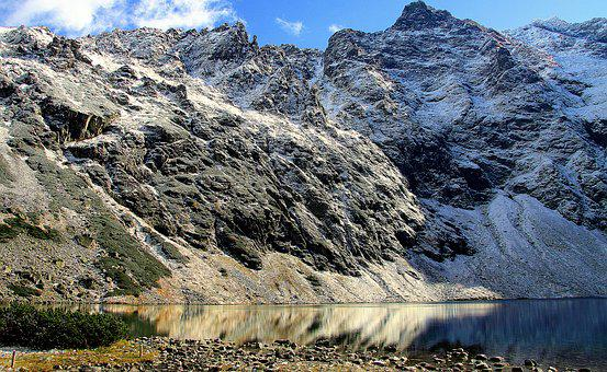 Tatry, Mountains, Black Pond, Landscape, Mountain Ponds