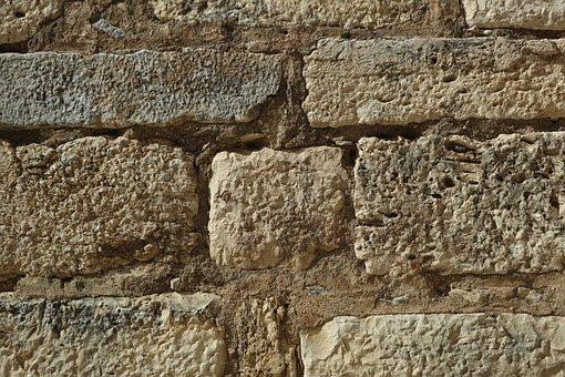 Wall, Brick, Stone, Sarmiento, Kennedy, The Forgotten