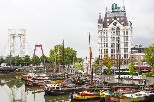 Rotterdam, White House, Netherlands, Holland, Building