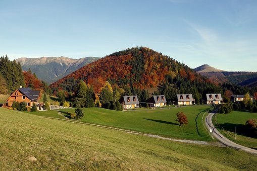 Donovaly, Slovakia, Autumn, Mountains, Low Tatras