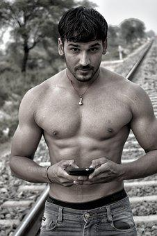 Traps, Shoulder, Mobile, Fitness, Man, Male, Body