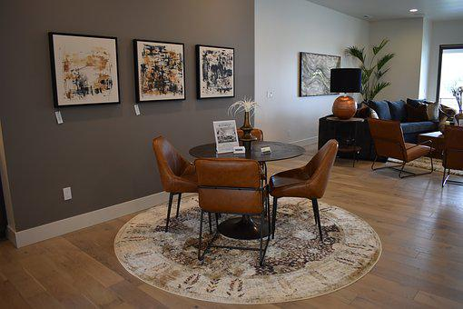 Table, Chairs, Interior, Room, Decor, Style, Home