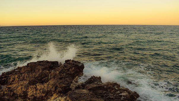 Rocky Coast, Wave, Coast, Sea, Nature, Landscape
