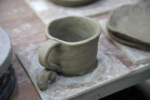 Porcelain, Hand, Dirt, Clay, Qualitative, Ware