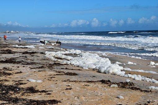 Ocean Debris, Hurricane Irma, Destruction, Damage
