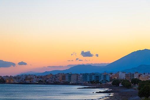 Crete, Greece, Landscapes, Holidays, Sea, Blue, Summer