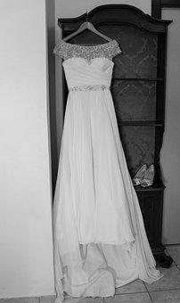 Wedding Dress, Wedding, White, Dress, Bride, Marriage