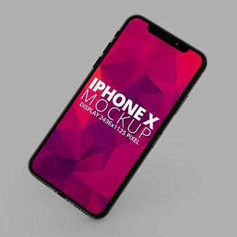 Iphone, Iphone X, Apple, Ios, Rendering, 3d, Mobile