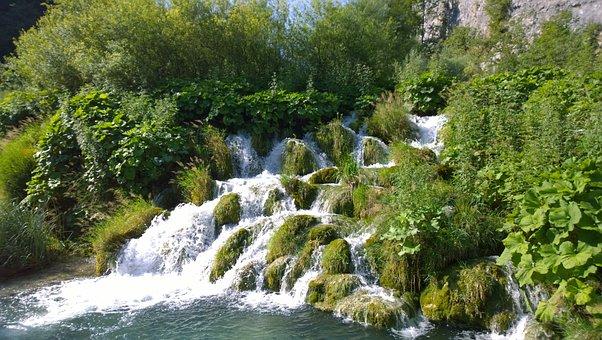 More, Croatia, Nature, Plitvice, Waterfall