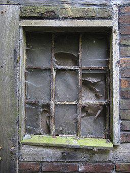 Window, Old Window, Window Frames, Old, Glass