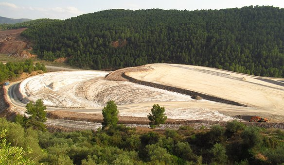 Salt, Waste, Pollution, Cardona, Catalonia, Environment