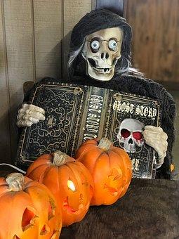 Halloween, Scary, Pumpkin, Pumpkins, Haunted, Skeleton