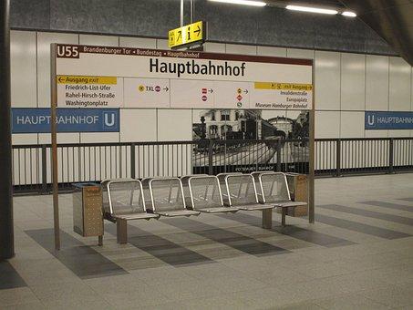 Berlin, Central Station, Shield, Berlin Central Station