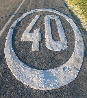 Route, 40, Road, Speed, Signal, Traffic, Asphalt