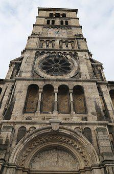 Steeple, Church, House Of Worship, Clock Tower