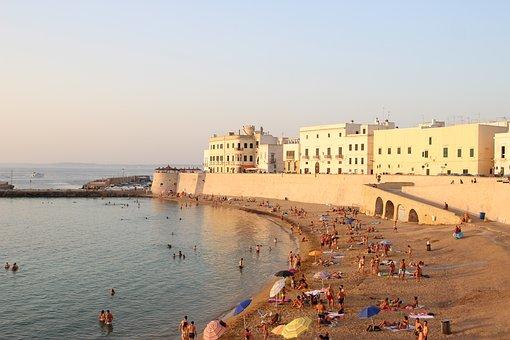 Beach, Gallipoli, Salento, Italy, Puglia, Summer, Costa