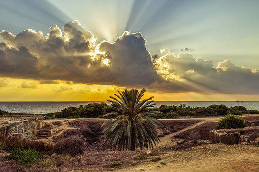 Cyprus, Paphos, Tombs Of The Kings, Archaeological Site